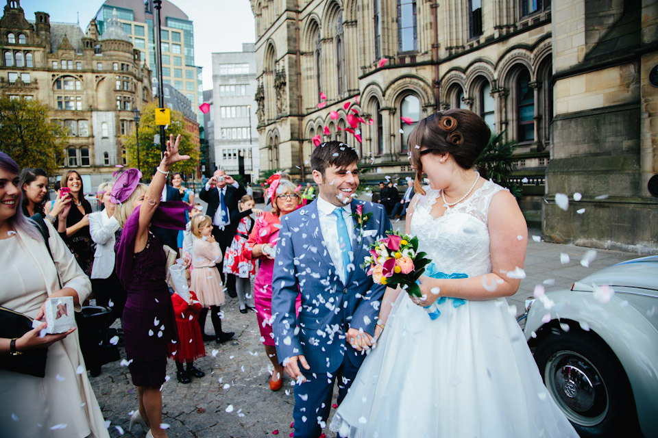 Manchester town hall wedding photography-189